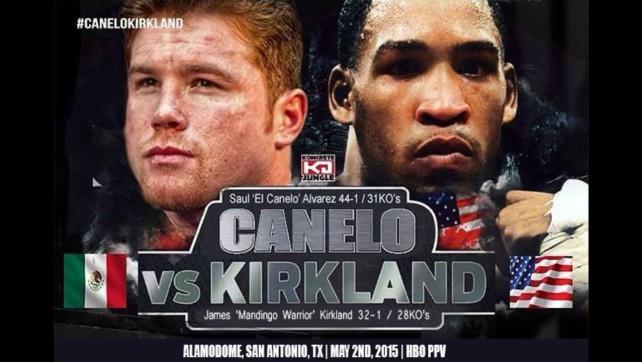Канело Алварес срещу Джеймс Къркланд – Canelo Alvarez vs James Kirkland