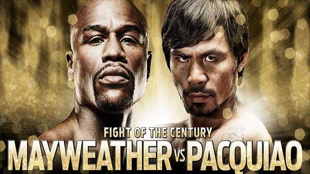 Флойд Мейуедър мл срещу Мани Пакиао – Floyd Mayweather Jr vs Manny Pacquiao